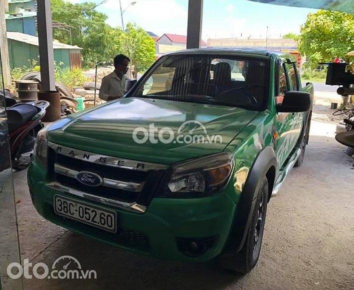 Cần bán xe Ford Ranger sản xuất 2010, màu xanh lục, nhập khẩu nguyên chiếc còn mới0