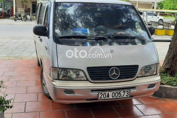 Cần bán lại xe Mercedes MB100 năm sản xuất 2000, màu trắng giá cạnh tranh0