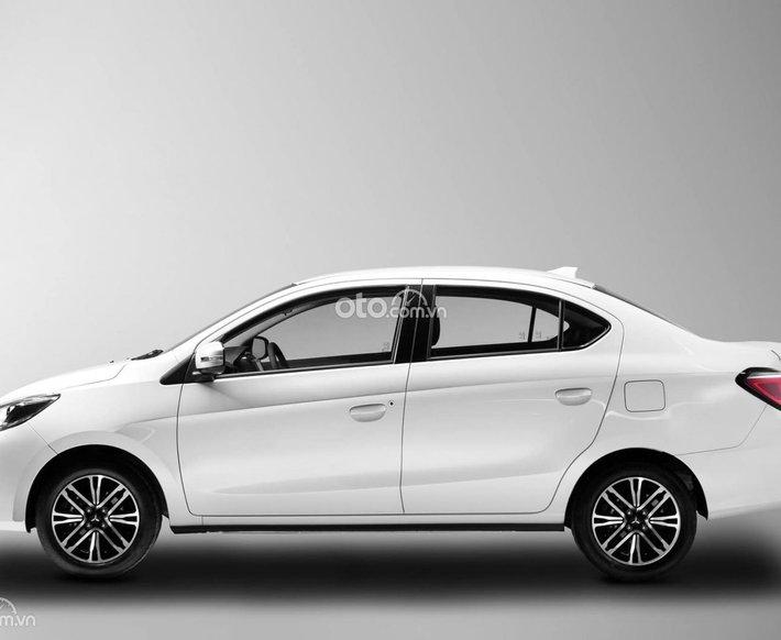 Bán ô tô Mitsubishi Attrage CVT Premium năm 2021, màu trắng, giá chỉ 485 triệu0