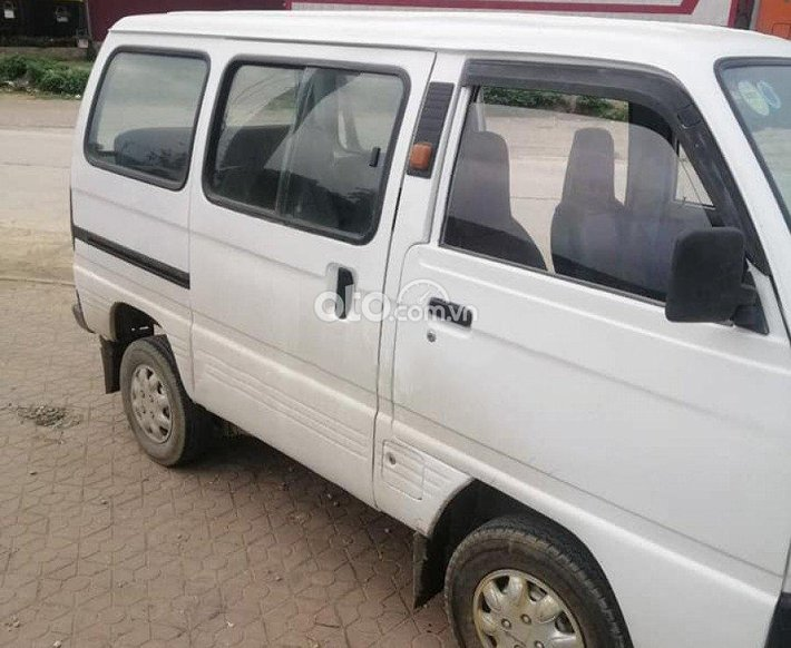 Xe Suzuki Super Carry Van đời 1999, màu trắng0