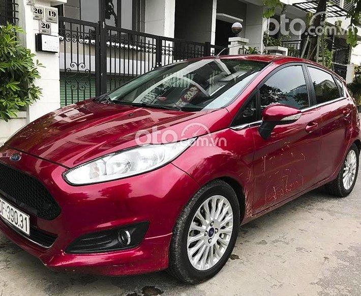 Bán xe Ford Fiesta 1.0AT Ecoboost 2015, màu đỏ, giá chỉ 379 triệu0