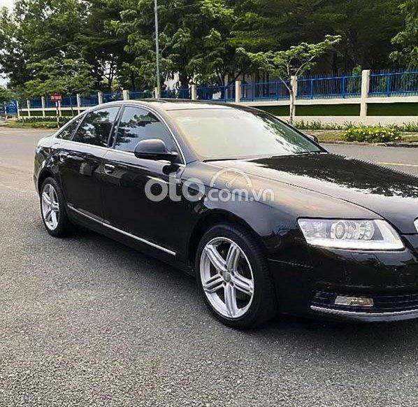 Bán Audi A6 2011, màu đen xe gia đình cực đep0