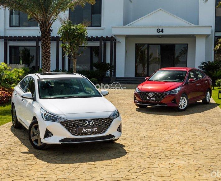 Hyundai Accent 1.4MT năm 2021, khuyến mãi lớn nhất năm0