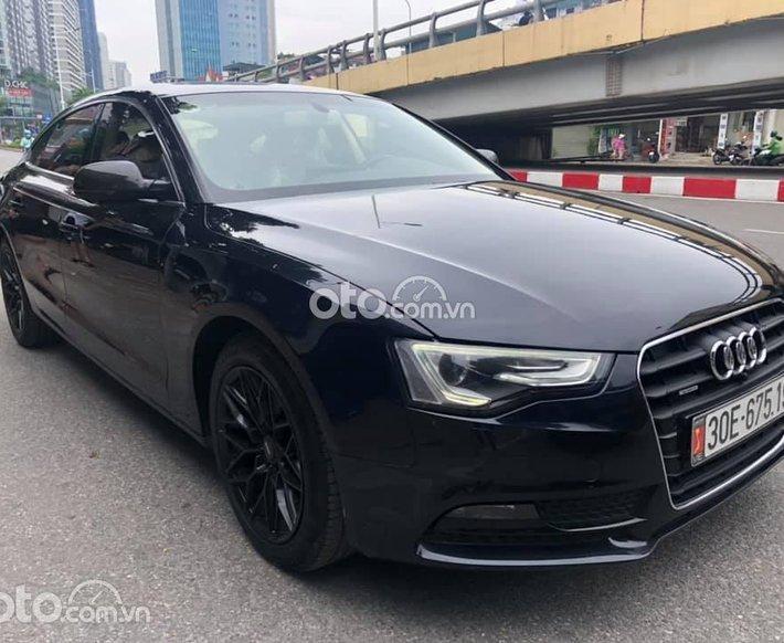Bán xe Audi A5 đời 2015, màu đen số tự động giá cạnh tranh0