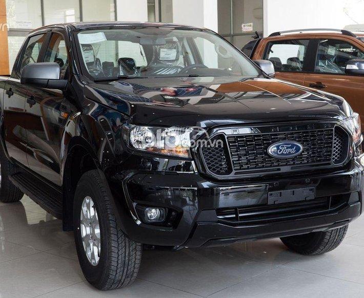 Bán xe Ford Ranger XLS MT 4x2 sản xuất năm 2021, màu đen, giá chỉ 610 triệu0