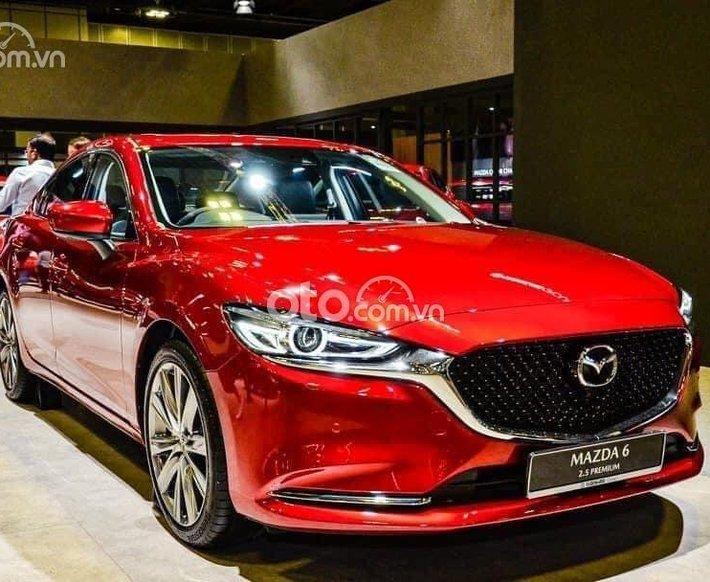 Bán xe Mazda 6 đời 2021, màu đỏ0