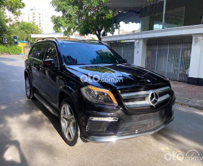 Bán xe Mercedes GL500 AMG năm sản xuất 2014, màu đen, nhập khẩu nguyên chiếc0