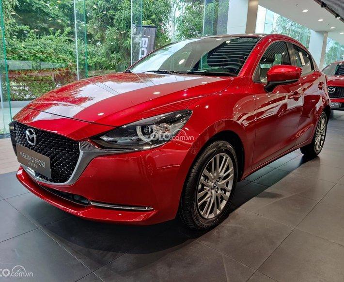 New Mazda 2 1.5 Sport Luxury 2021, giá tốt Hà Nội, hỗ trợ tối đa giá trị xe0