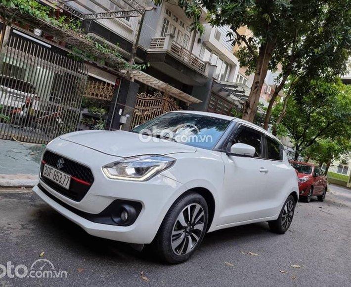 Bank 75% nhanh gọn, Suzuki Swift sản xuất 2019, màu trắng, nhập khẩu nguyên chiếc, 555 triệu0
