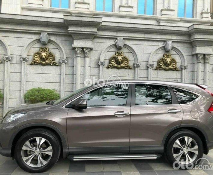Xe Honda CR-V sản xuất năm 2014, màu nâu, giá tốt0