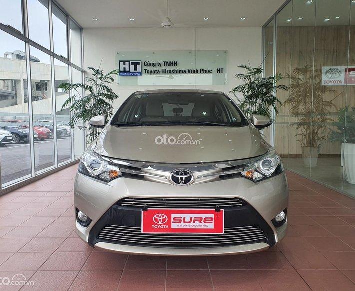 Cần bán lại xe Toyota Vios G sản xuất năm 2018, giá có fix0