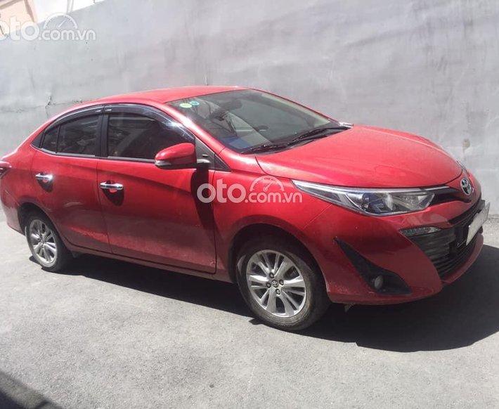 Bán Toyota Vios G năm sản xuất 2019, màu đỏ số tự động0