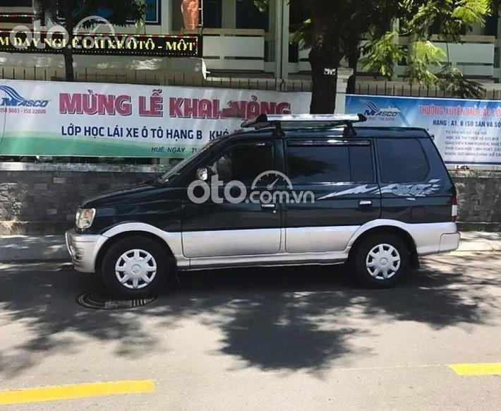 Cần bán Mitsubishi Jolie GLX đời 1999, màu xanh lam xe gia đình0