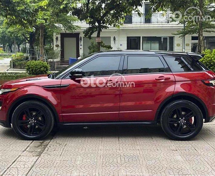 Bán LandRover Range Rover Evoque năm 2012, màu đỏ, nhập khẩu nguyên chiếc0