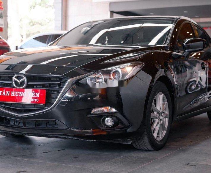 Bán Mazda 3 năm sản xuất 2017, màu đen còn mới giá cạnh tranh0