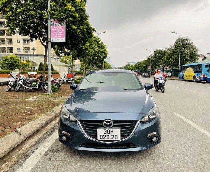 Bán Mazda 3 sản xuất 2015, màu xanh lam còn mới, giá chỉ 485 triệu0