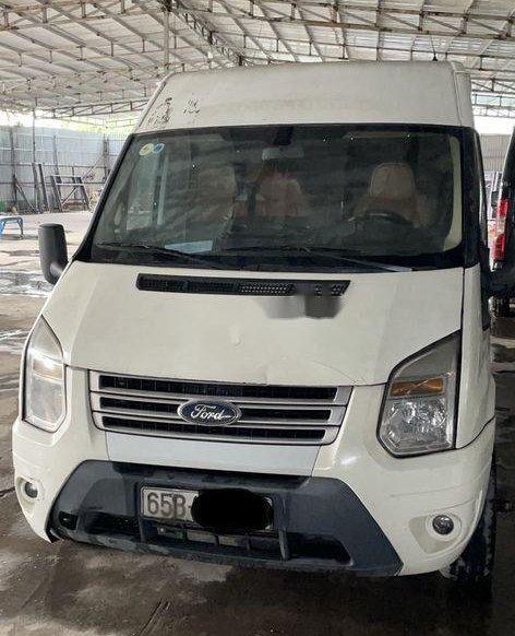 Bán Ford Transit đời 2015, màu trắng, giá 290tr0