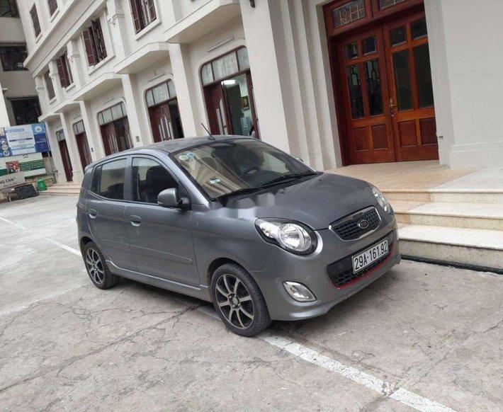 Bán Kia Morning năm sản xuất 2012, màu xám, nhập khẩu  0