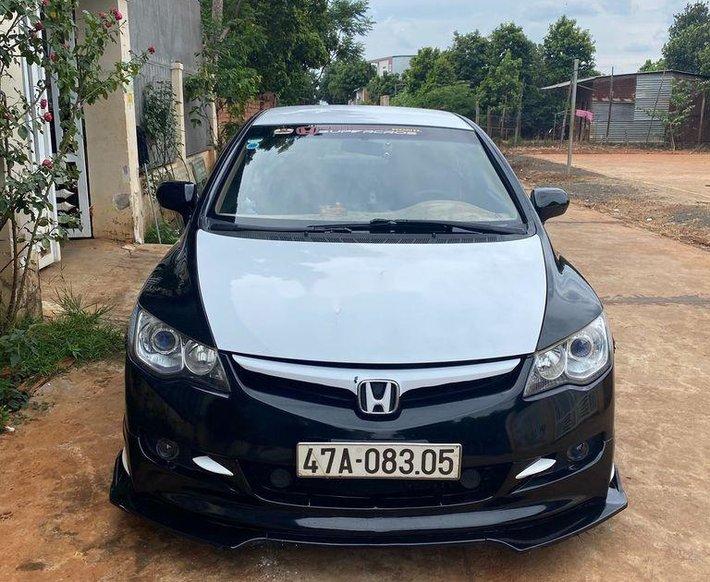 Cần bán Honda Civic đời 2008, màu đen, nhập khẩu số sàn, giá chỉ 265 triệu0