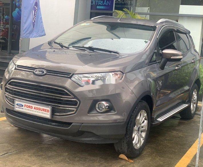 Bán Ford EcoSport Titanium sản xuất 2015, màu xám, giá tốt0