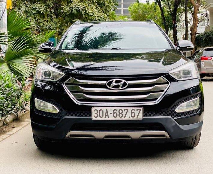 Bán Hyundai Santa Fe năm sản xuất 2015, giá tốt0