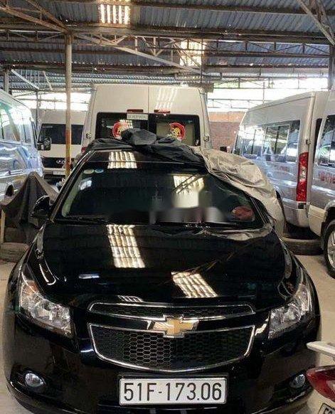 Xe Chevrolet Cruze đời 2015, màu đen xe gia đình0
