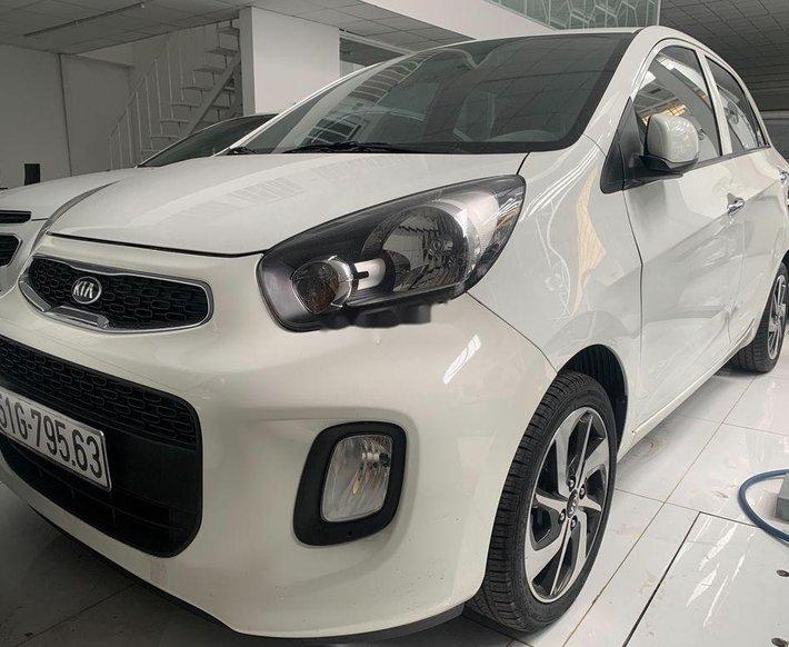 Bán Kia Morning năm sản xuất 2019, màu trắng còn mới, giá chỉ 330 triệu0