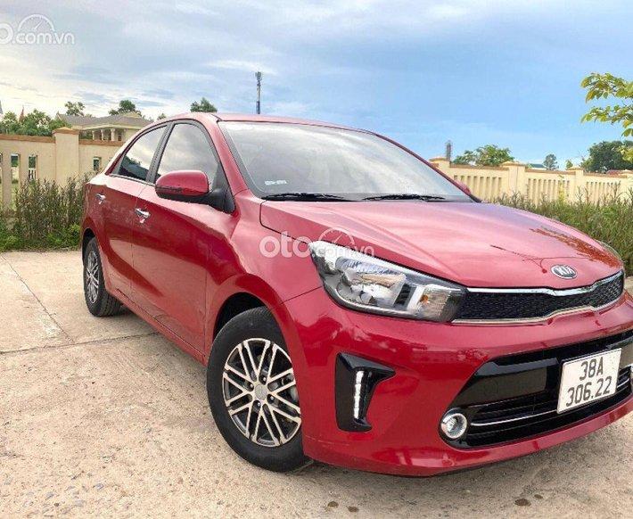 Bán xe Kia Soluto 1.4 AT Deluxe đời 2020, màu đỏ còn mới0