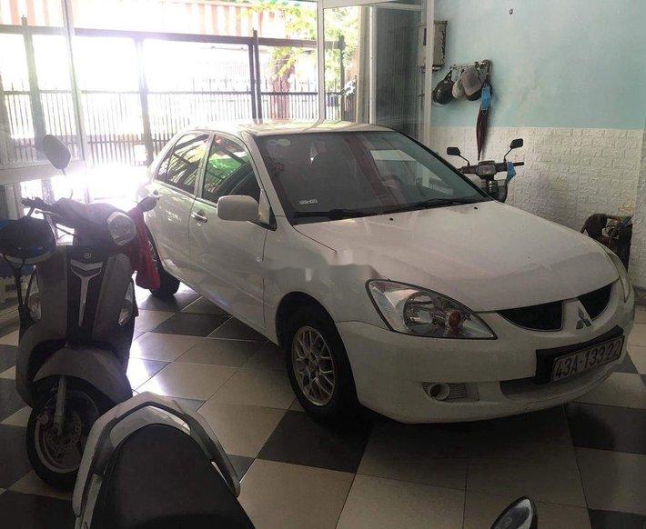 Cần bán gấp Mitsubishi Lancer Gala 1.6 CVT năm sản xuất 2003, màu trắng, xe nhập chính chủ, giá tốt0