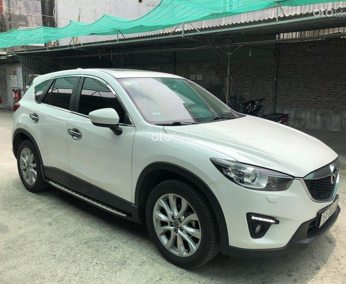 Gia đình cần bán Mazda CX5 2015 màu trắng0
