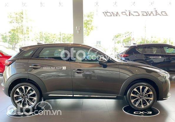 Cần bán xe Mazda CX3 1.5 Luxury đời 2021, màu xám0