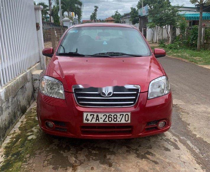 Xe Daewoo Gentra đời 2007, màu đỏ, nhập khẩu nguyên chiếc xe gia đình, giá tốt0