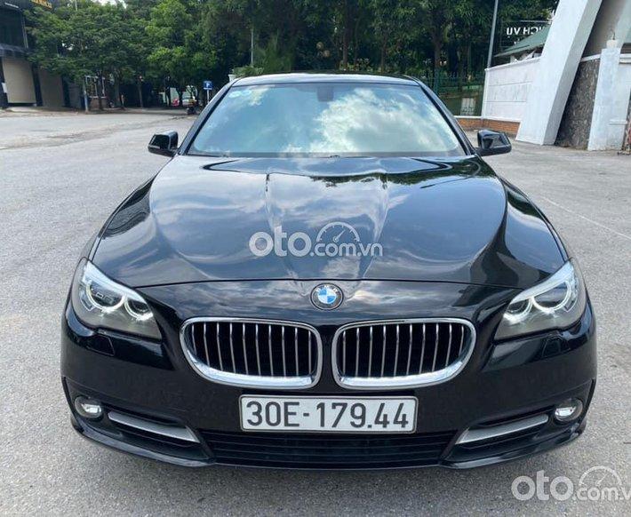 Bán xe BMW 520i sản xuất 2016, màu đen0