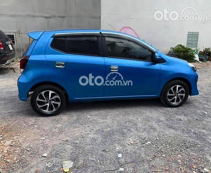 Bán xe Toyota Wigo 1.2G MT 2018, màu xanh lam, xe nhập còn mới, giá tốt0