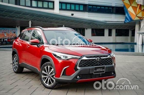 Bán Toyota Corolla Cross HV (CXH) sản xuất 2021, màu đỏ0