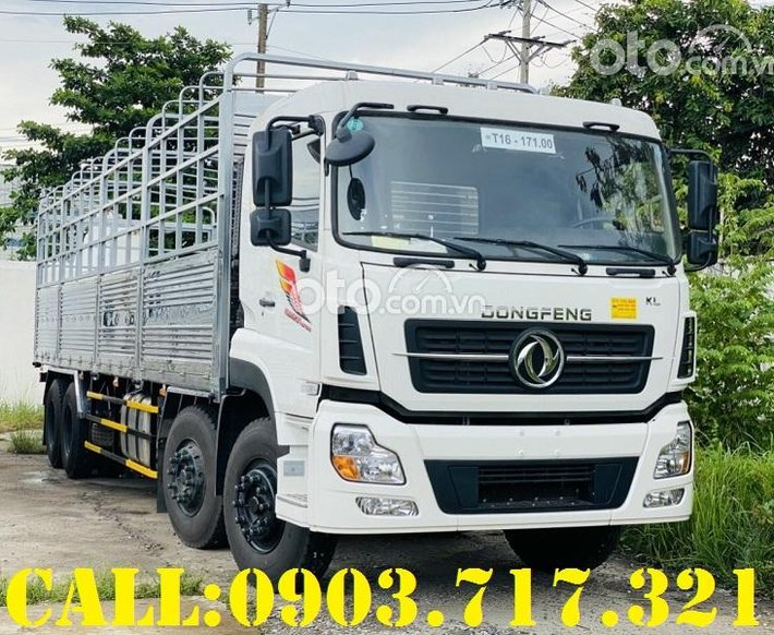 Xe tải DongFeng 4 chân ISL315, bán xe tải DongFeng 4 chân ISL3150