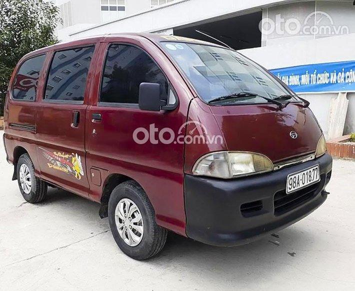 Cần bán gấp Daihatsu Citivan sản xuất năm 2004, màu đỏ giá cạnh tranh0