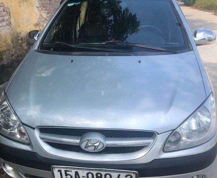 Bán Hyundai Getz đời 2007, màu bạc, xe nhập xe gia đình0