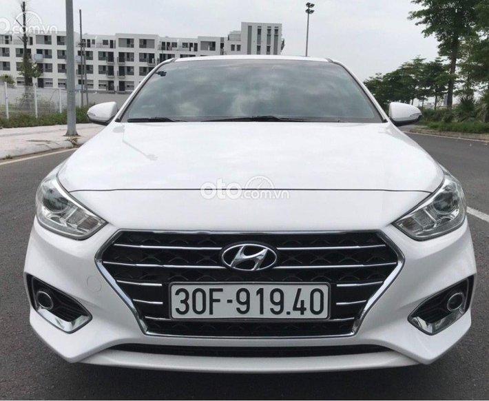 Xe Hyundai Accent 1.4 ATH năm sản xuất 2018, màu trắng còn mới, 485 triệu0
