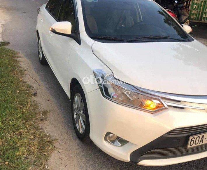 Bán Toyota Vios 1.5 Limo sx 2017 màu trắng0