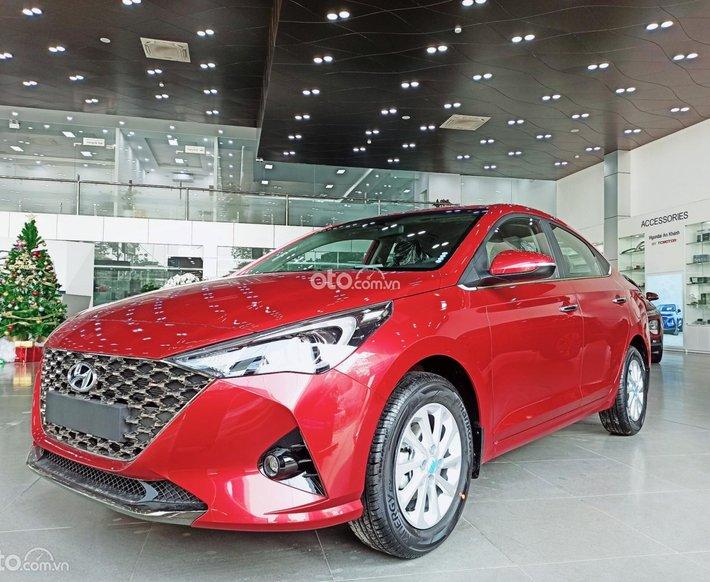 Bán Hyundai Accent 1.4 AT đặc biệt 2021, màu đỏ, giá 542.1tr0