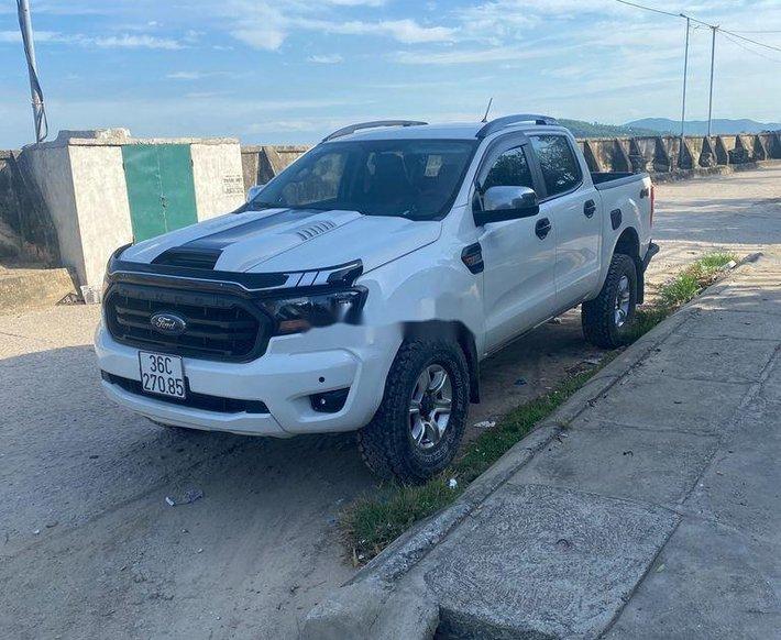Cần bán lại xe Ford Ranger sản xuất 2019, màu trắng, xe nhập, giá 530tr0