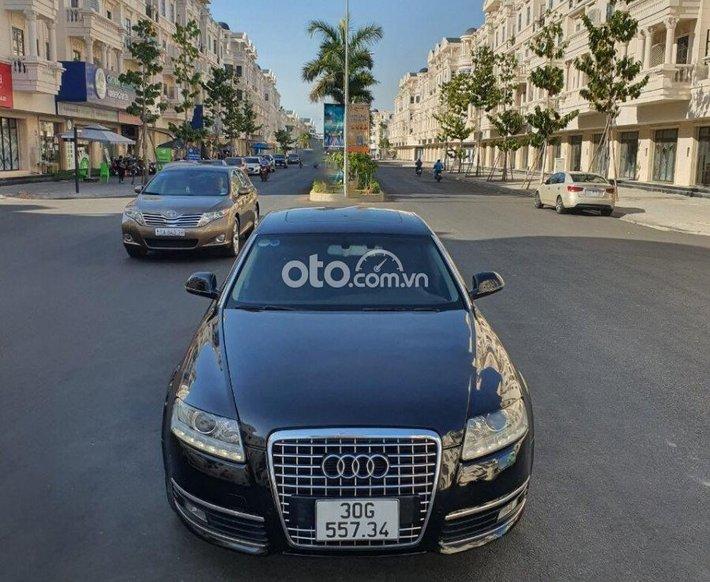 Cần bán gấp Audi A6 2.0 2010, màu đen, xe gia đình đi0