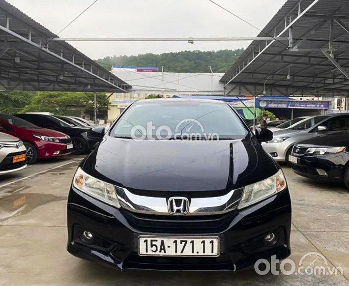 Bán Honda City sản xuất năm 2015, màu đen, 320 triệu0