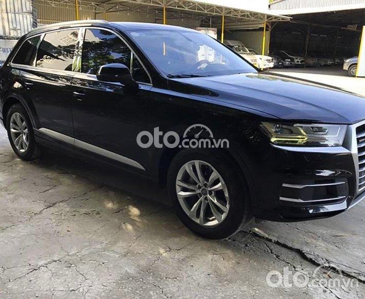 Bán Audi Q7 sản xuất năm 2016, màu đen, nhập khẩu0