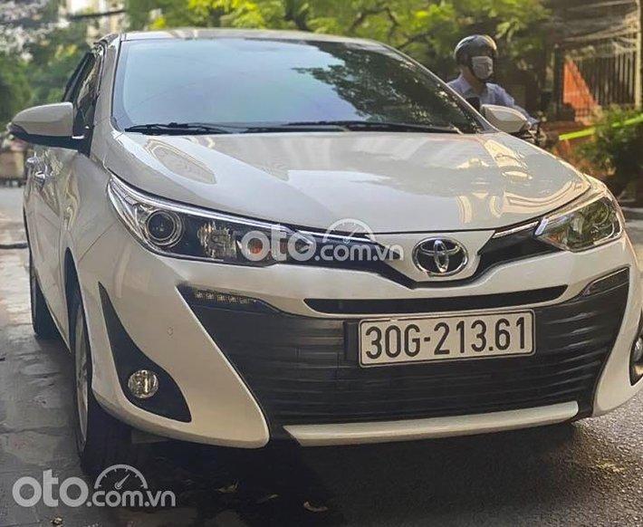 Bán ô tô Toyota Vios G 2020, màu trắng0
