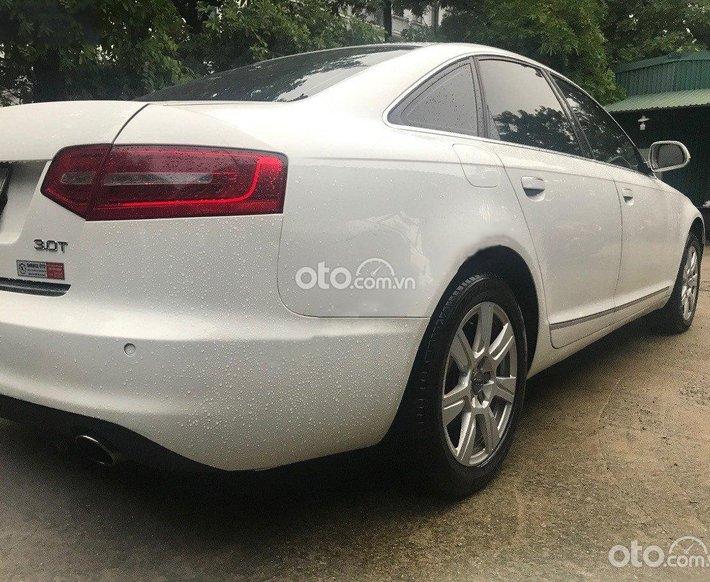 Bán Audi A6 đời 2010, màu trắng, nhập khẩu nguyên chiếc  0