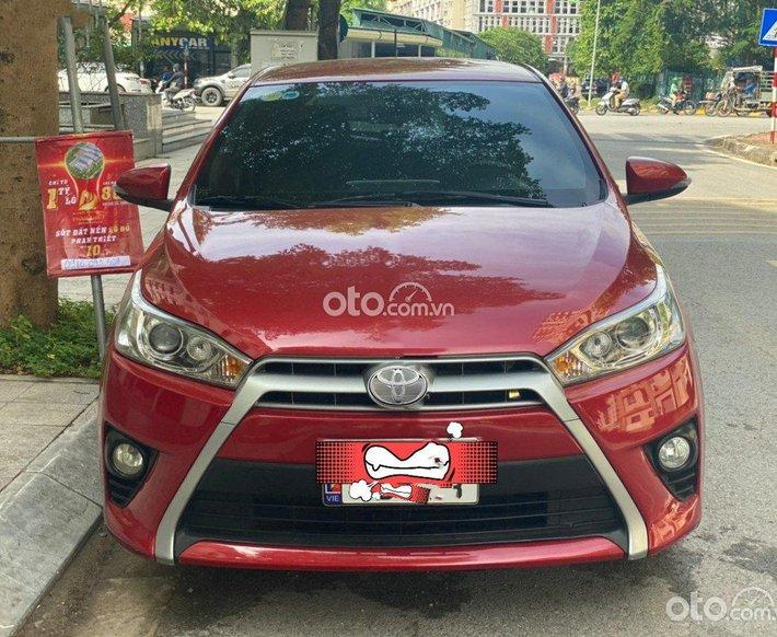 Cần bán gấp Toyota Yaris sản xuất năm 2014, màu đỏ, nhập khẩu còn mới, giá tốt0
