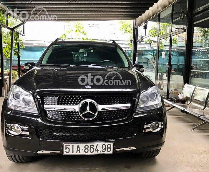 Cần bán Mercedes GL450 năm sản xuất 2008, màu đen, xe nhập, 750 triệu0