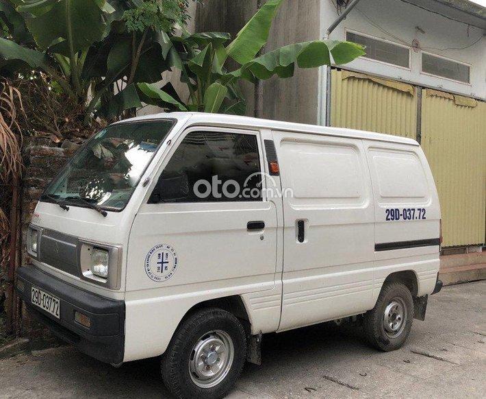 Cần bán gấp Suzuki Super Carry Van năm sản xuất 2014, màu trắng, giá 165tr0